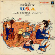 The Dave Brubeck Quartet - Jazz Impressions Of The U.S.A.