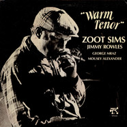 Zoot Sims And Jimmy Rowles - Warm Tenor