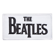Beatles, The - Drop T Logo Standard Patch (Iron On)