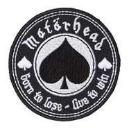Motörhead - Born To Love, Live To Win Standard Patch