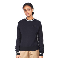 Fred Perry - Texture Crew Neck Jumper