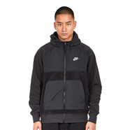 Nike - Hooded Full-Zip Fleece Jacket
