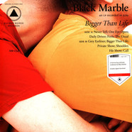 Black Marble - Bigger Than Life Red Vinyl Edition