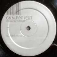 G&M Project - Sunday Afternoon