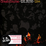 UK Subs - Crash Course - Live Clear & Grey Vinyl Ediiton