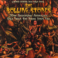 Rolling Stones, The - 50th Anniversary Anthology - Gold From The Brian Jones Era Inca Gold Vinyl Magazine Edition