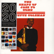 Ornette Coleman - The Shape Of Jazz To Come Blue Vinyl Edition