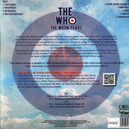 Who, The - Keith Moon Years - The Legendary Broadcasts Blue Vinyl Magazine Edition