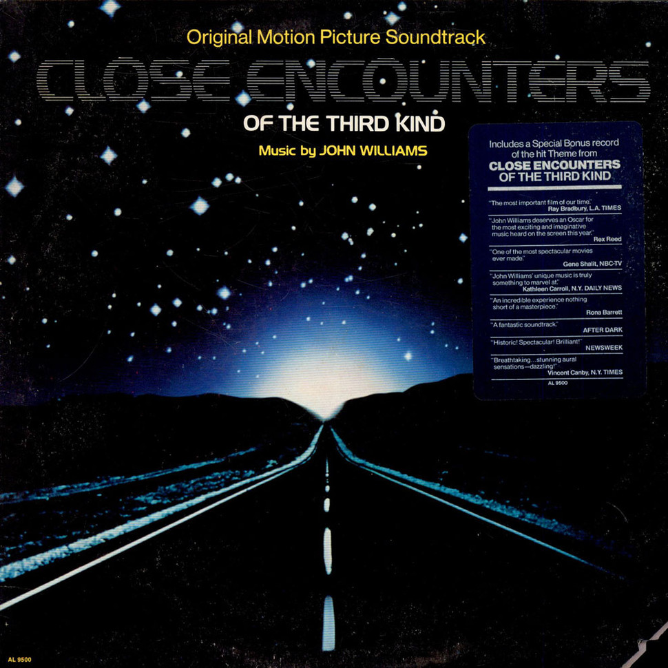 CLOSE ENCOUNTERS OF THE THIRD KIND POSTER A4 A3 A2 A1 CINEMA MOVIE RE-RELEASE 2