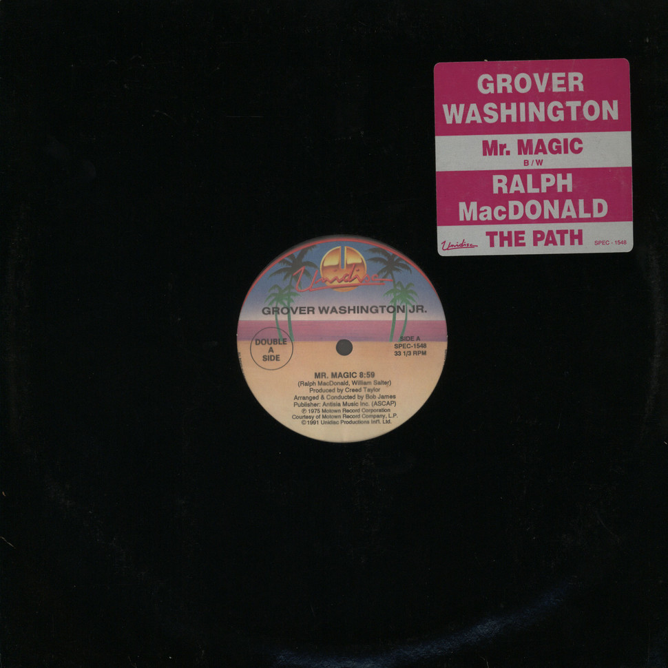Grover Washington Jr Mr Magic