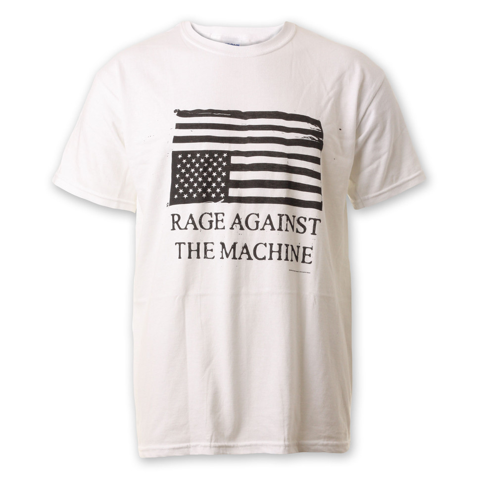 Rage Against The Machine - Wrecked Flag T-Shirt