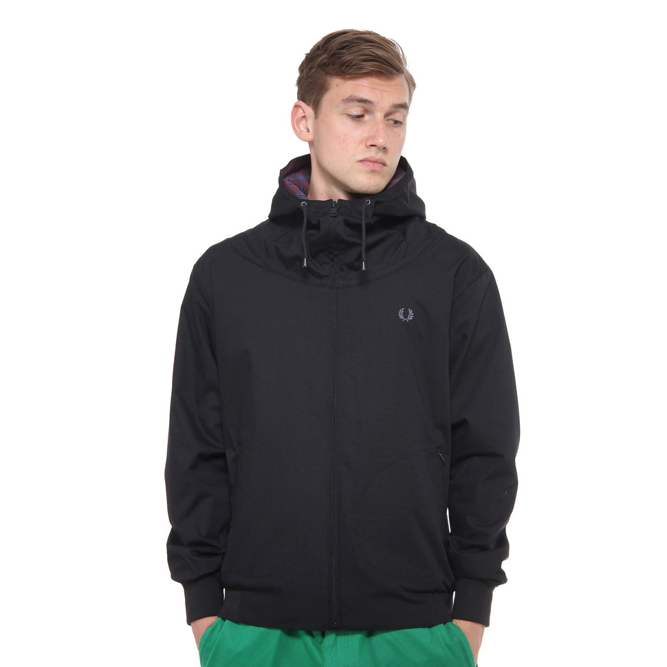 Fred Perry - Hooded Tennis Bomber Jacket