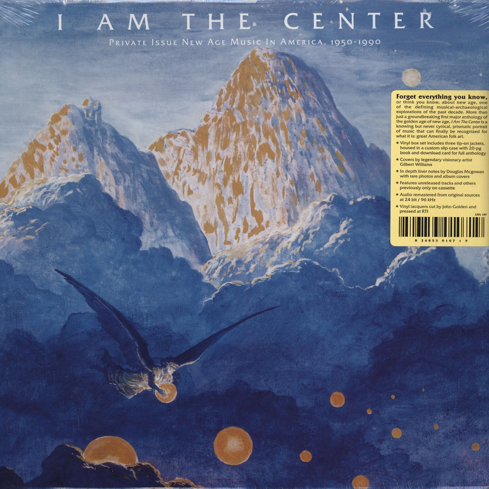 V.A. - I Am The Center: Private Issue New Age In America 1950-1990