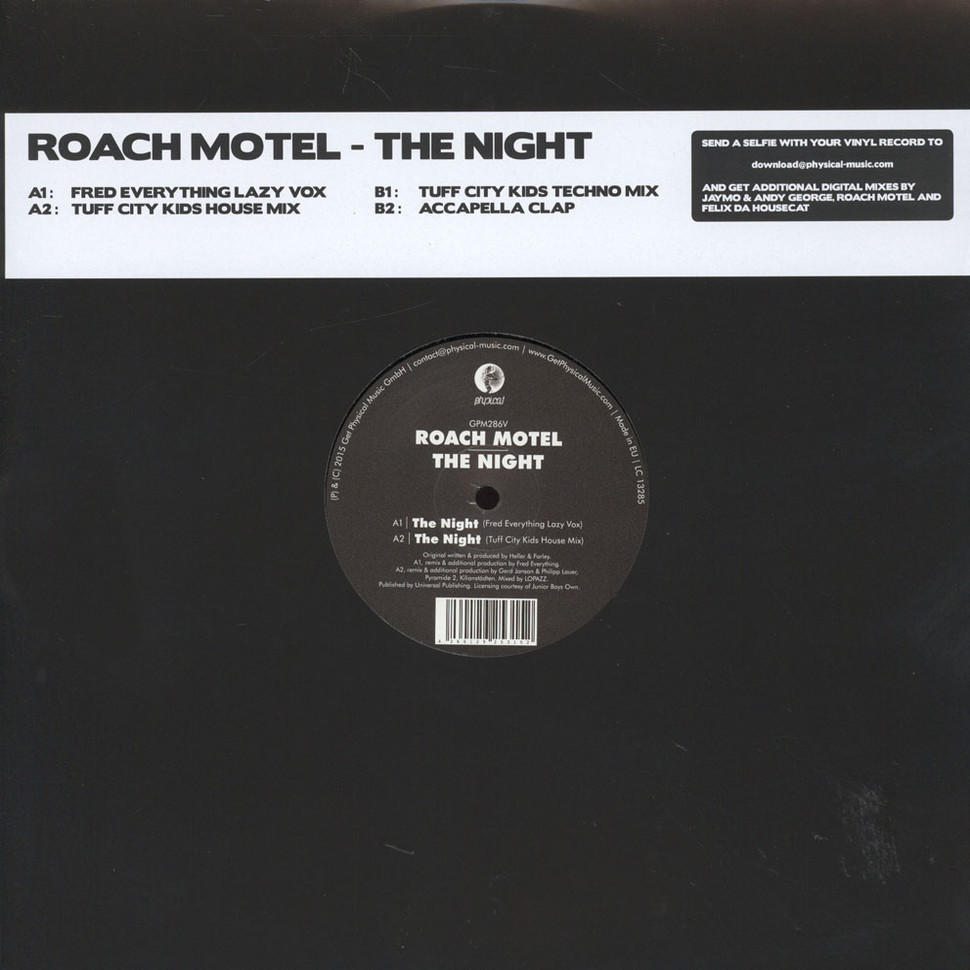 Roach Motel - The Night Tuff City Kids Remixes