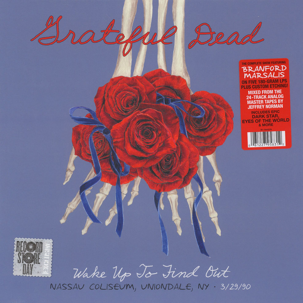 Grateful Dead - Wake Up To Find Out: Nassau Coliseum, Uniondale NY 3/29/90