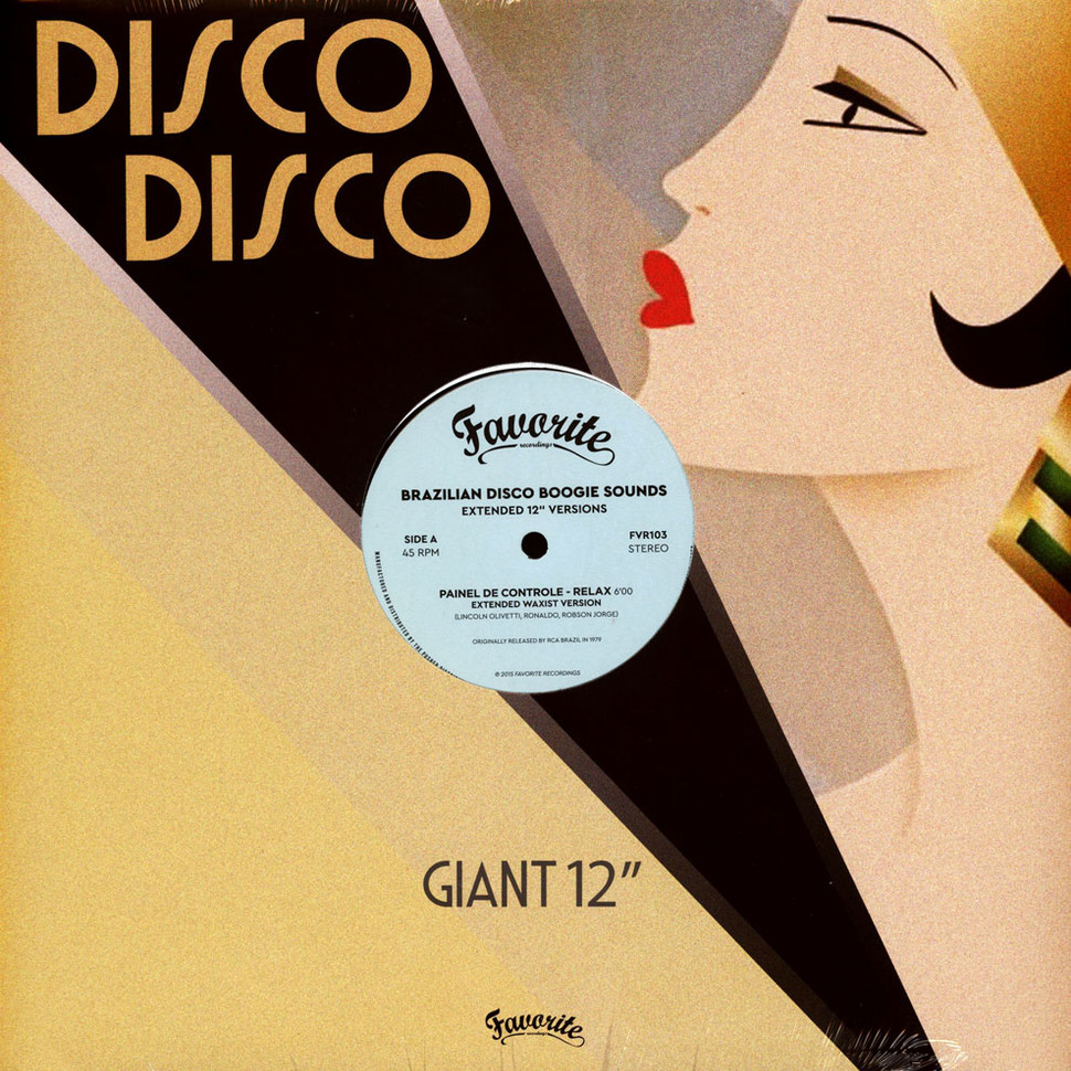 """V.A. - Brazilian Disco Boogie Sounds Extended 12"""" Versions"""
