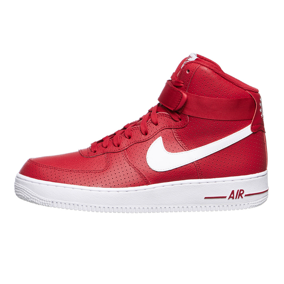 air force 1 high 07 red