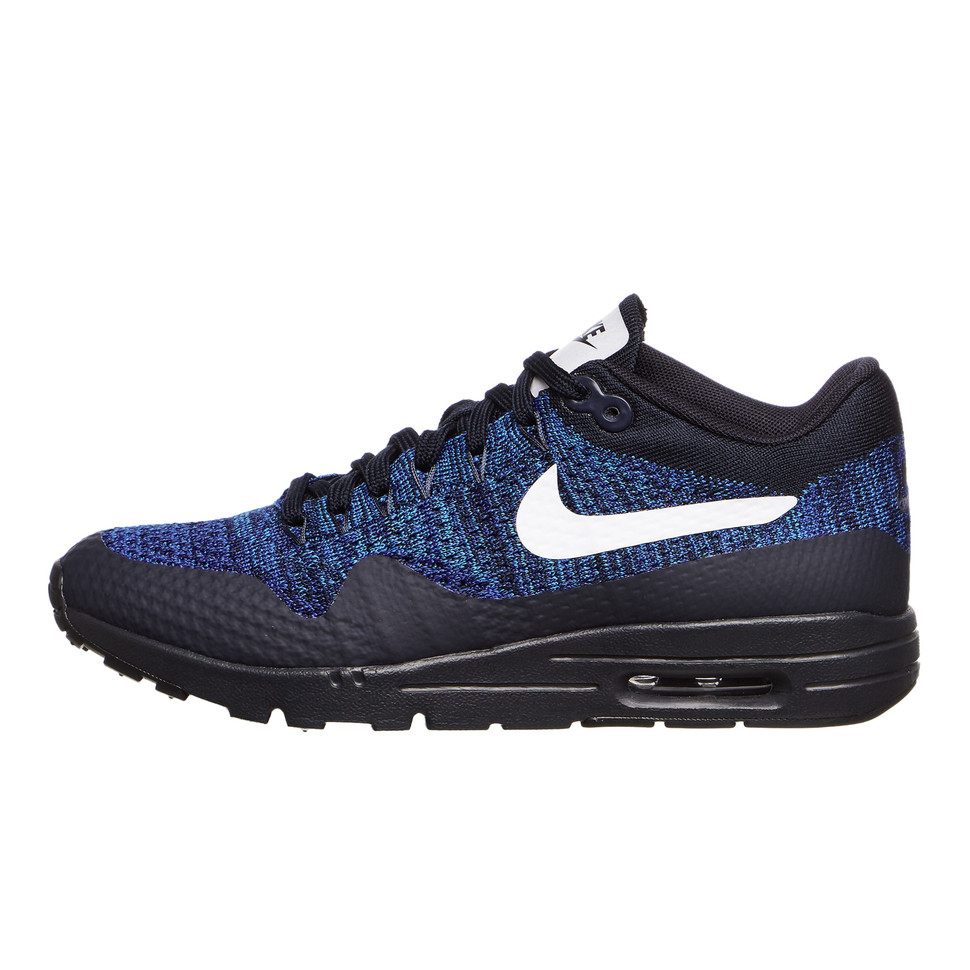 Wide range of UK Nike Flyknit Air Max Running Shoes Blue