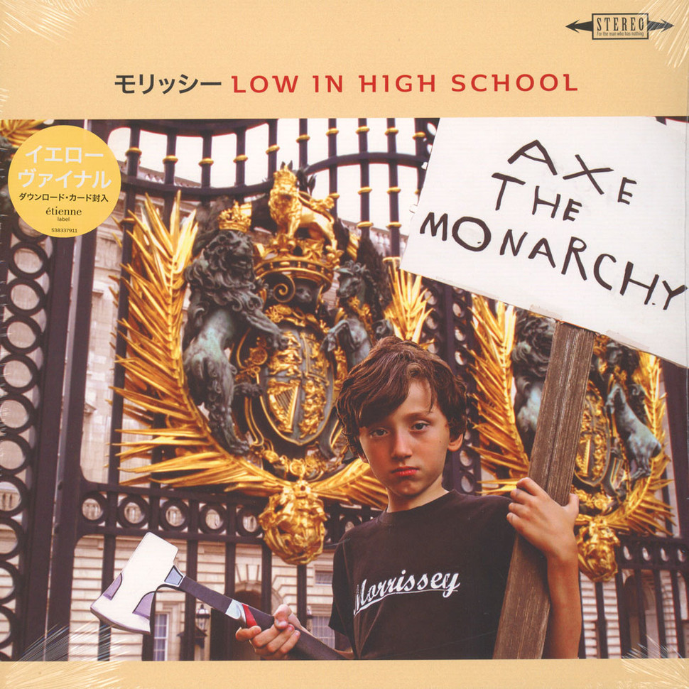 Morrissey - Low In High School Japanese Version Yellow Vinyl Edition