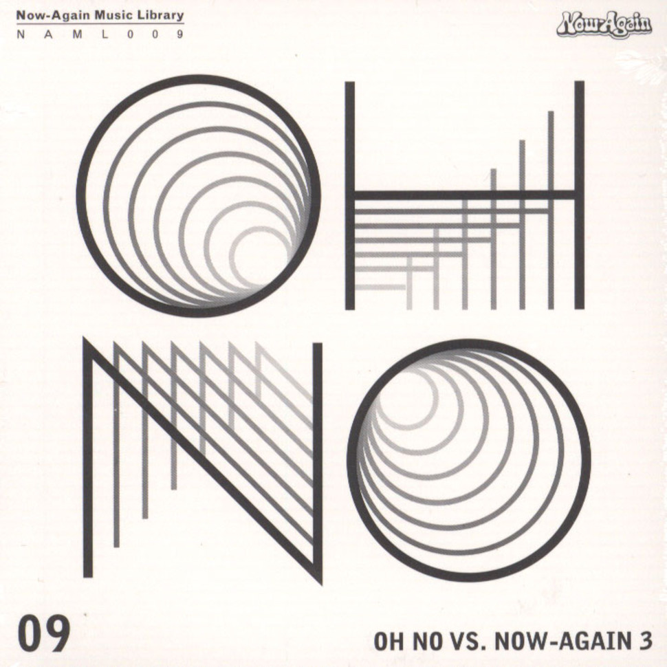 Oh No - Oh No Vs. Now Again Volume 3