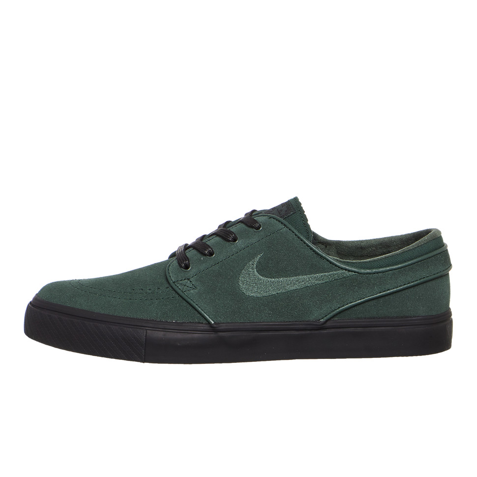 La risa relajarse vestir  Nike SB - Zoom Stefan Janoski (Midnight Green / Midnight Green / Black) |  HHV