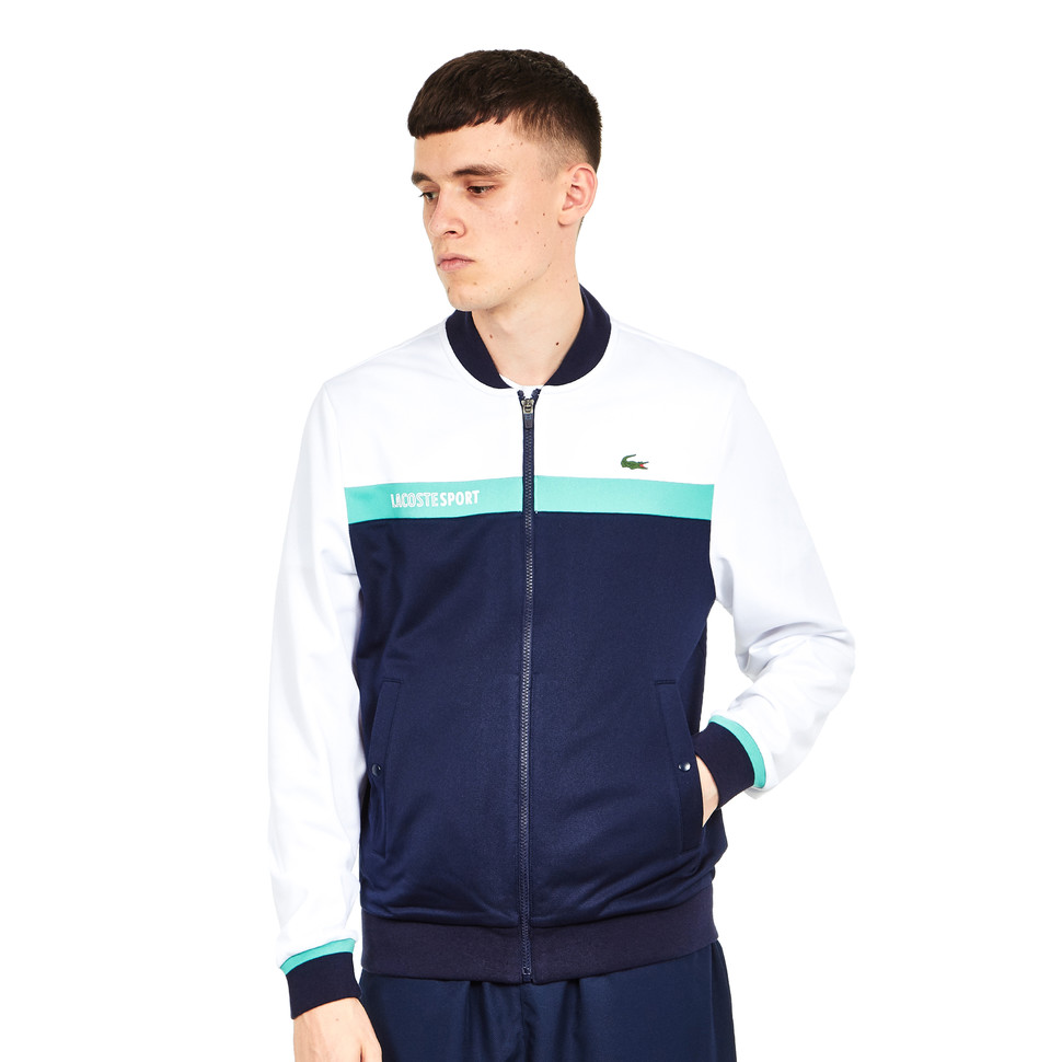 Lacoste - Run Resistant Pique Sweat Jacket
