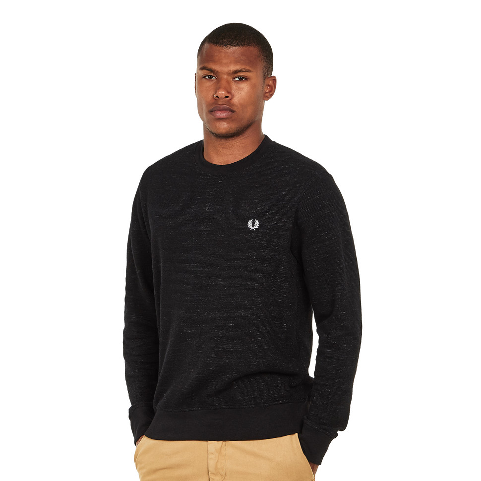 Fred Perry - Pique Texture Sweatshirt