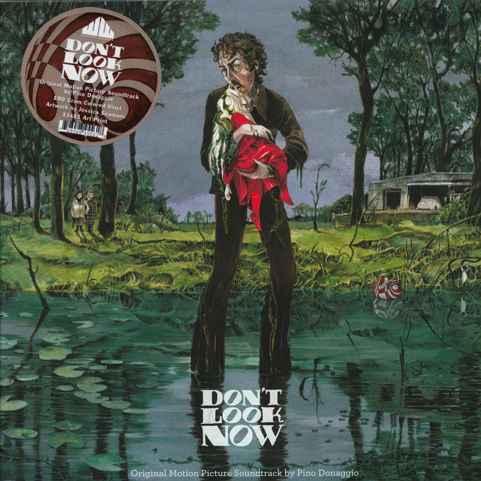 Pino Donaggio - OST Don't Look Now Red Raincoat Colored Vinyl Edition