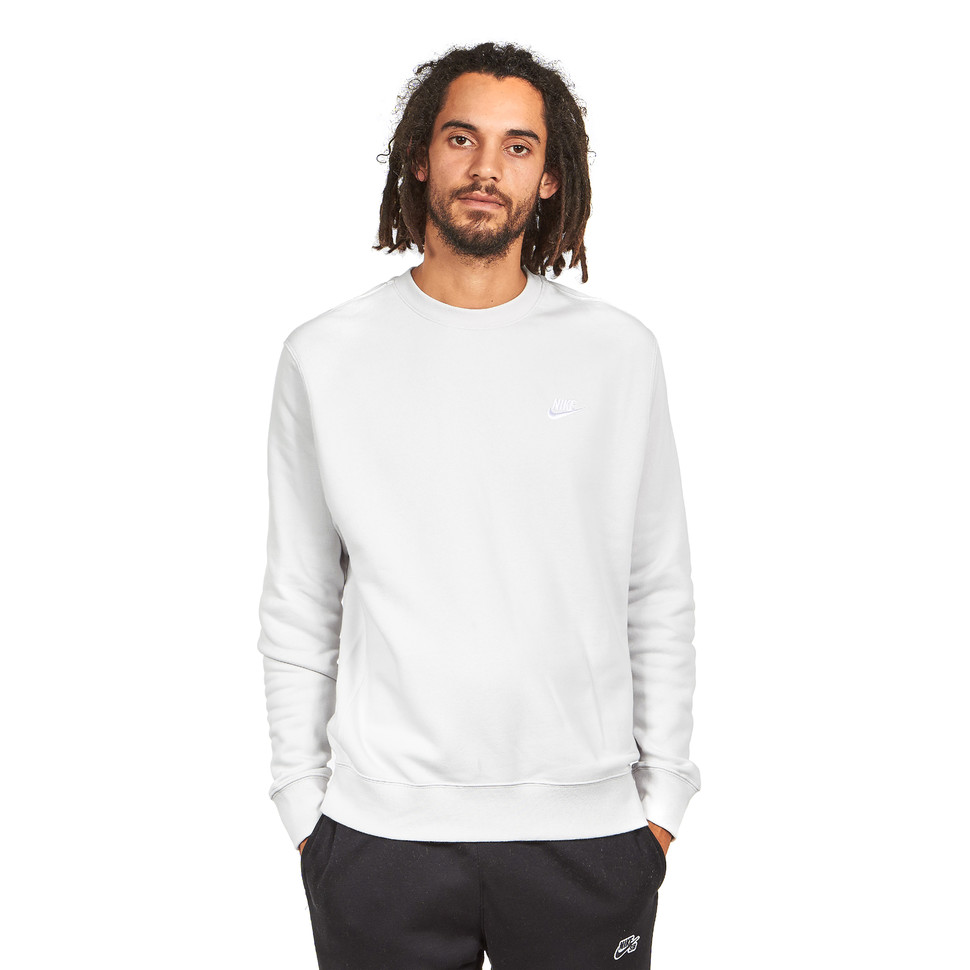 lovely luster 100% quality quarantee low price Nike - Club Crewneck Sweater Brushed Fleece