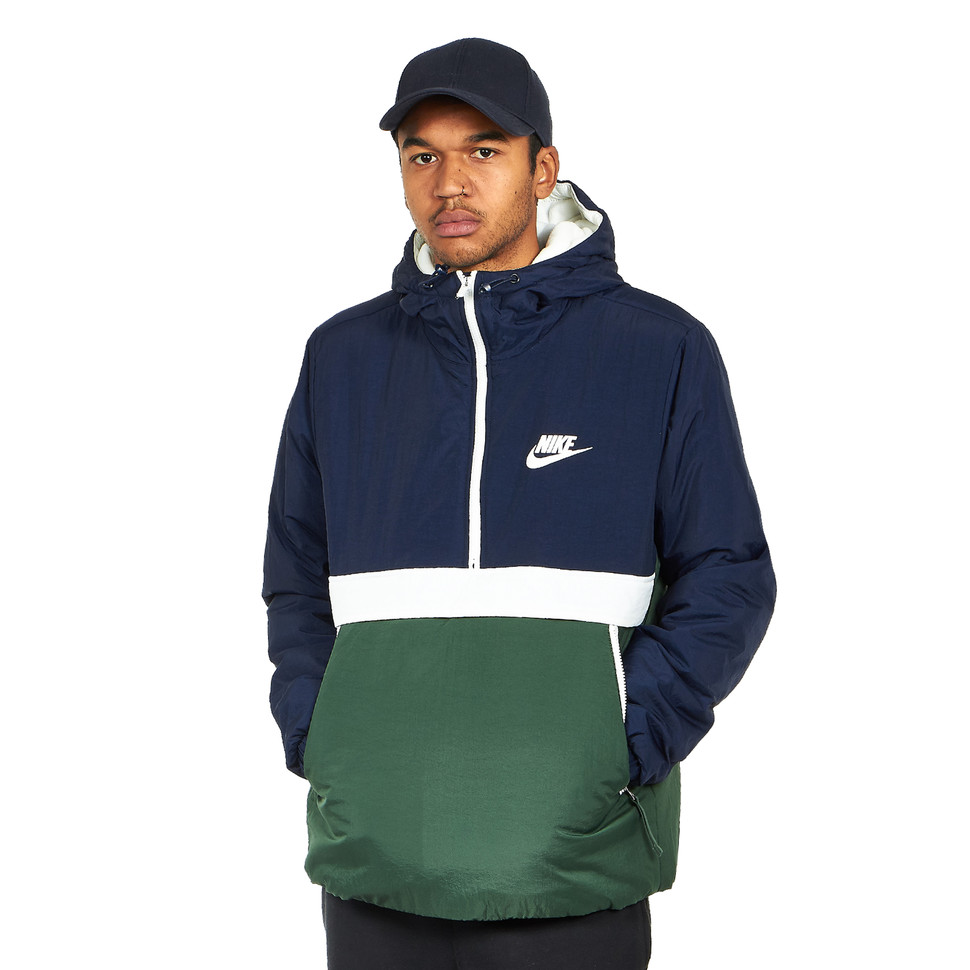 excellent quality coupon code another chance Nike - Synthetic Fill Hooded Half Zip Jacket - S