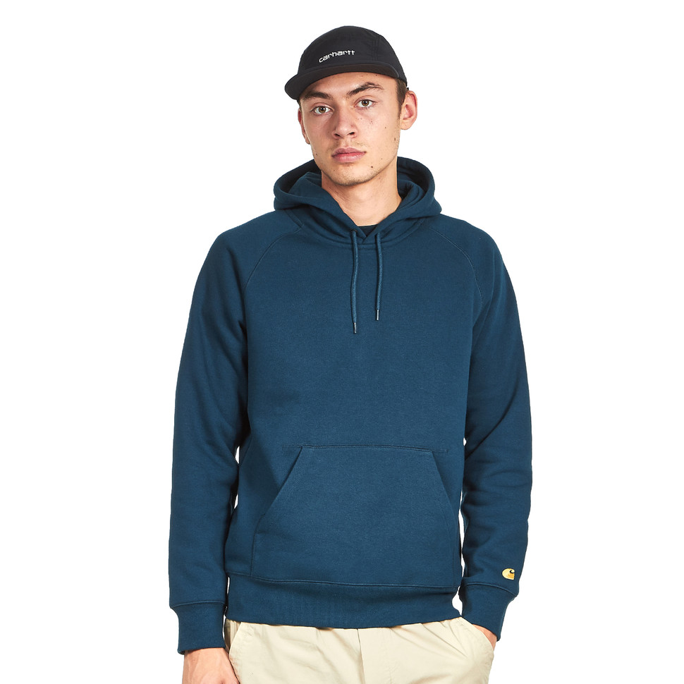 half off pre order on sale Carhartt WIP - Hooded Chase Sweatshirt - S