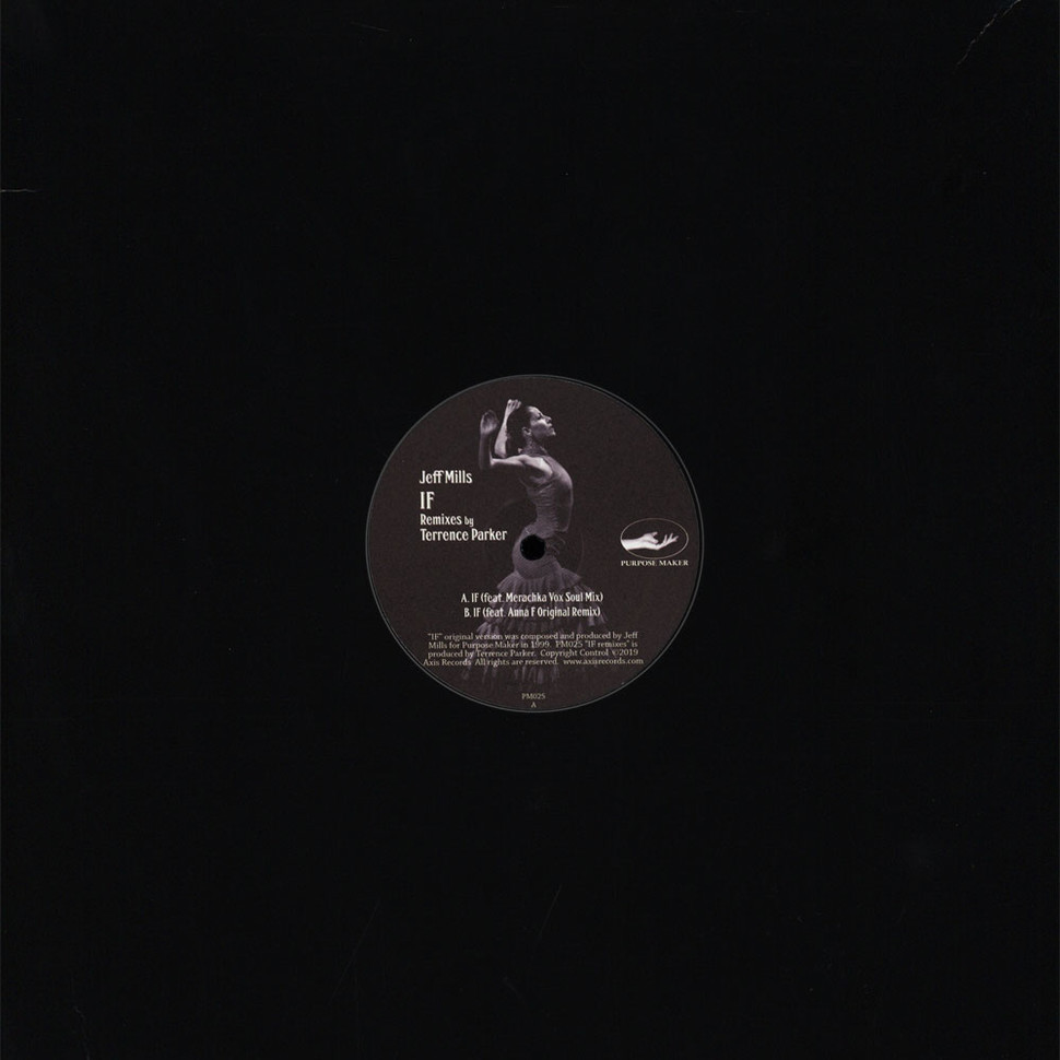 Jeff Mills - If Terrence Parker Remixes