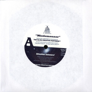 Sa-Ra Creative Partners / Budamunky - Misdemeanor / What I Need