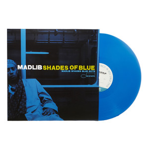 Madlib - Shades Of Blue HHV Blue Vinyl Edition