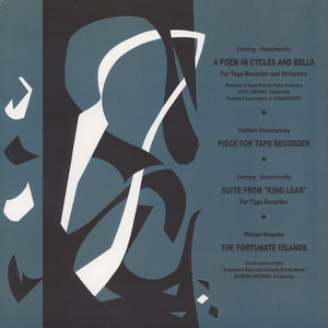 Luening / Ussachevsky / Bergsma - A Poem In Cycles And Bells & Other Music ...