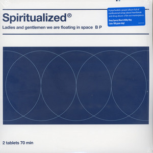 Spiritualized - Ladies And Gentlemen We Are Floating In Space Blue And White Vinyl Edition