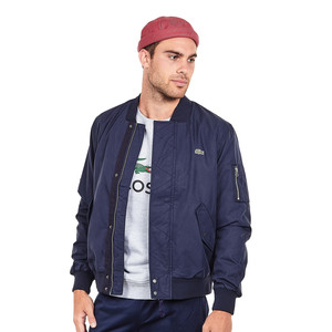 Lacoste - Direct Embroidered Textured Dobby Blouson