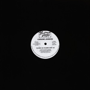 Lorraine Johnson - The More I Get, The More I Want