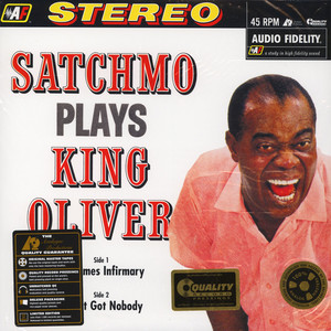 Louis Armstrong - Satchmo Plays King Oliver 45RPM, 180g Vinyl Edition