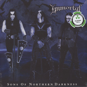 Immortal - Sons Of Northern Darkness Clear Vinyl Edition