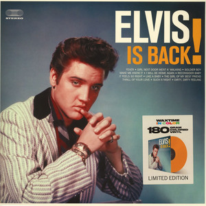 Elvis Presley - Elvis Is Back Colored Vinyl Edition