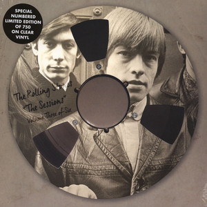 Rolling Stones, The - The Sessions Volume 3 Clear Vinyl Edition