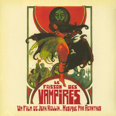 Acanthus - OST Le Frisson Des Vampires (The Shiver Of The Vampires) Red Vinyl Edition